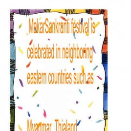SANKRANTI IN THAILAND
