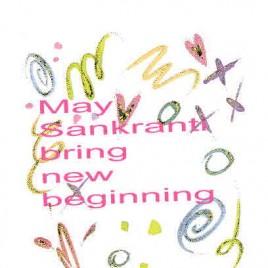 SANKRANTI MEANS NEW BEGINING