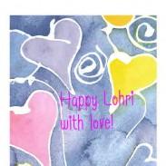 HAPPY LOHRI WITH LOVE