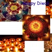 HAPPY DIWALI DECORATIONS DIYAS