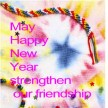 MAY HAPPY NEW YEAR STRENGTHEN